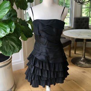 Laundry Black Ruffle Dress